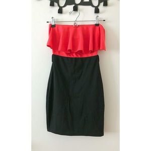 💋ASOS Flirty Bodycon Bandeau Dress